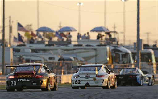 Grand Am Daytona 24 Hours Auto Racing