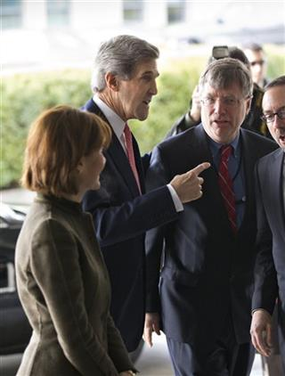 John Kerry, Capricia Marshall, Patrick Kennedy