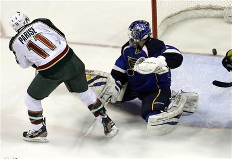 Zach Parise, Brian Elliott
