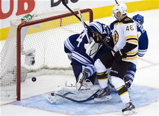 James Reimer; David Krejci