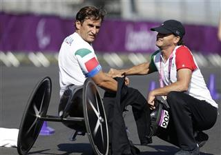 London Paralympics Cycling