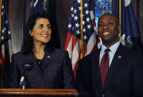Nikki Haley, Tim Scott
