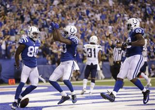 Chargers Colts Football