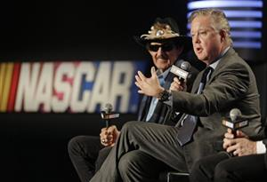 Brian France, Richard Petty