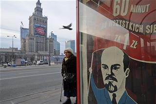 Poland Lenin Advertisement