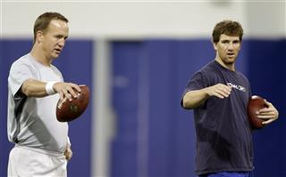 Peyton Manning, Eli Manning