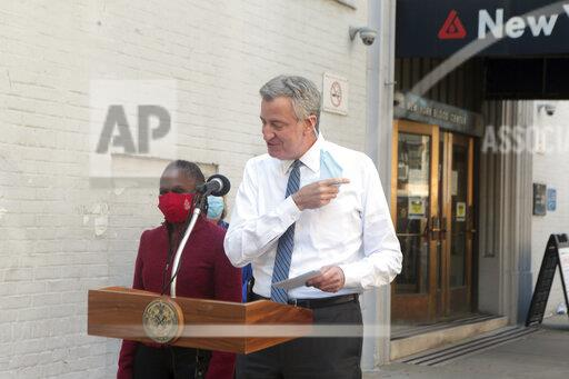 Mayor Bill De Blasio Donates Blood