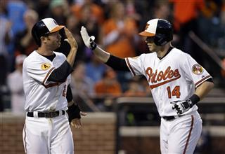 J.J. Hardy, Nolan Reimold