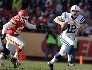 Andrew Luck, Brandon Siler