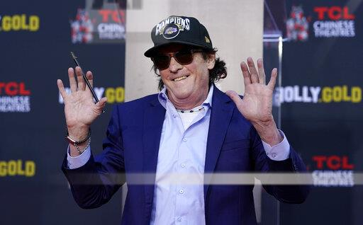 Michael Madsen Hand and Footprint Ceremony