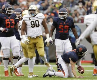 Notre Dame Changing Defense Football