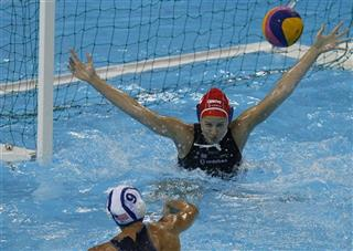 Britain Olympics Water Polo Test