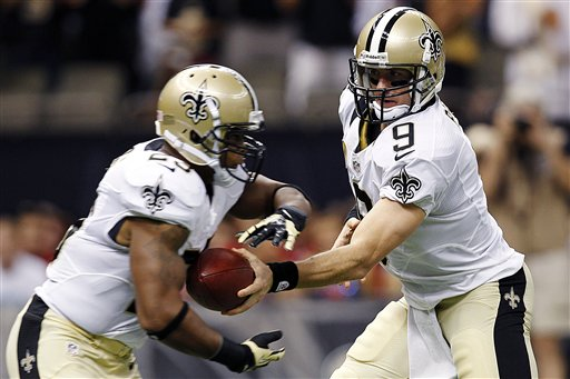 Drew Brees, Pierre Thomas