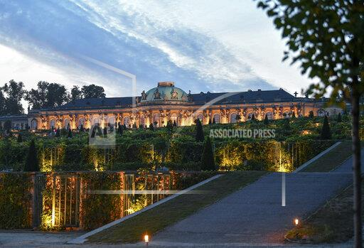 Potsdam Castle Night