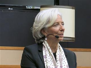 Netherlands IMF Lagarde
