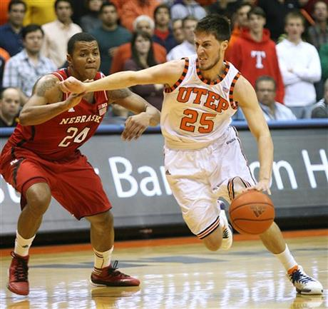 UTEP Nebraska Basketball
