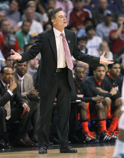 NCAA Louisville Michigan St Basketball