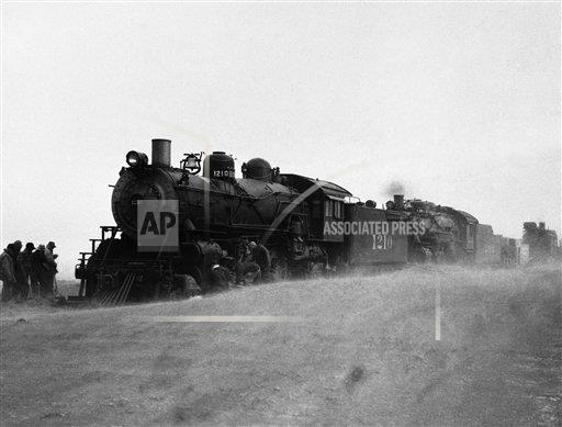 Watchf Associated Press Domestic News  Kansas United States APHS141573 The Dust Bowl Kansas 1935