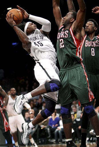 Gerald Wallace, Luc Richard Mbah a Moute,  Larry Sanders