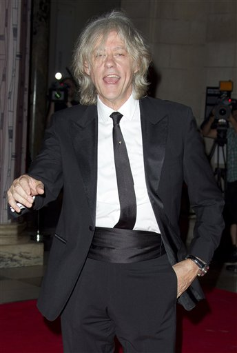 Sir Bob Geldof