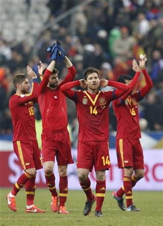 France Spain WCup Soccer