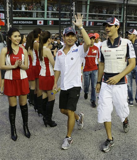 Singapore F1 GP Auto Racing