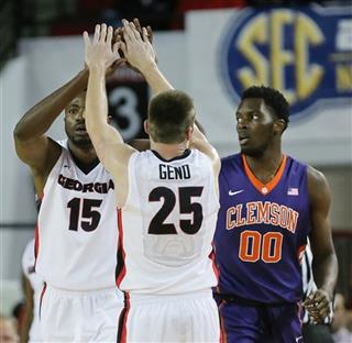 Clemson Georgia Basketball