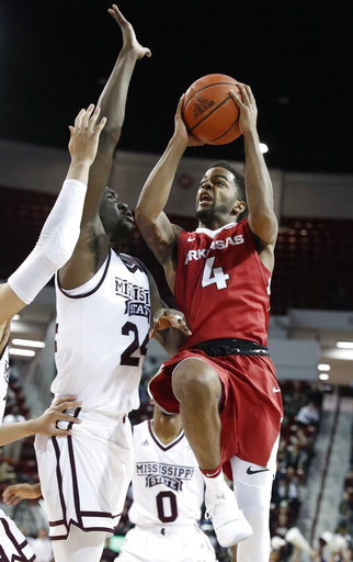 Arkansas Mississippi St Basketball
