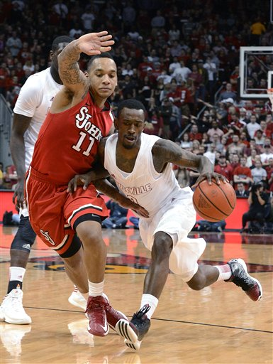 Russ Smith, D'Angelo Harrison