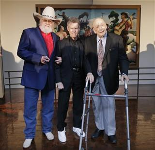 Charlie Daniels, Randy Travis, Fred Foster