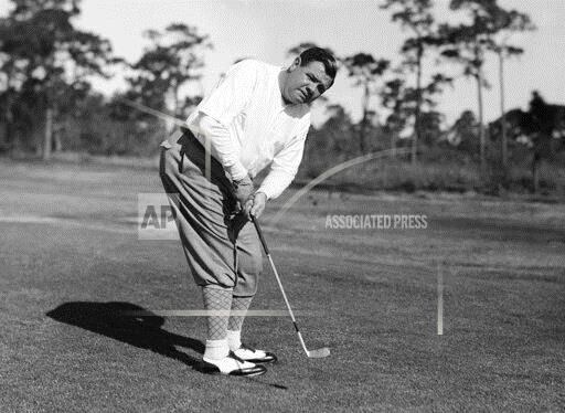 Watchf AP A  FLORIDA USA APHS176163 Babe Ruth