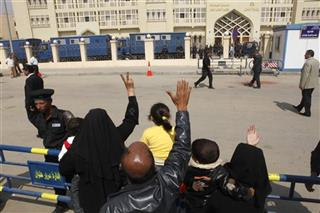 Mideast Egypt Prison Breaks