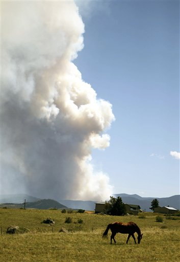APTOPIX Colorado Wildfire