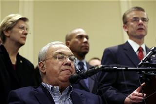 Thomas Menino, Elizabeth Warren, Deval Patrick, Richard DesLauriers