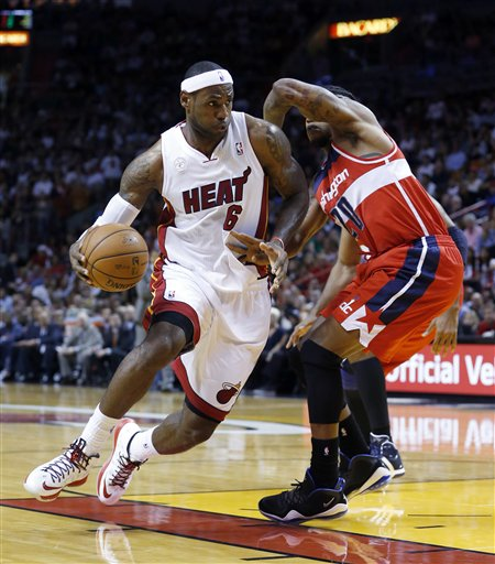 LeBron James, Cartier Martin