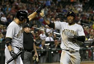Garrett Jones, Starling Marte
