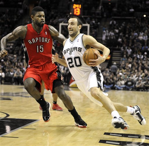 Manu Ginobili, Amir Johnson