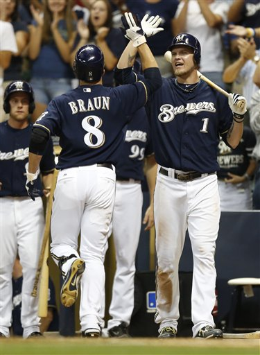Ryan Braun, Corey Hart