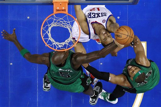 Evan Turner, Kevin Garnett, Paul Pierce