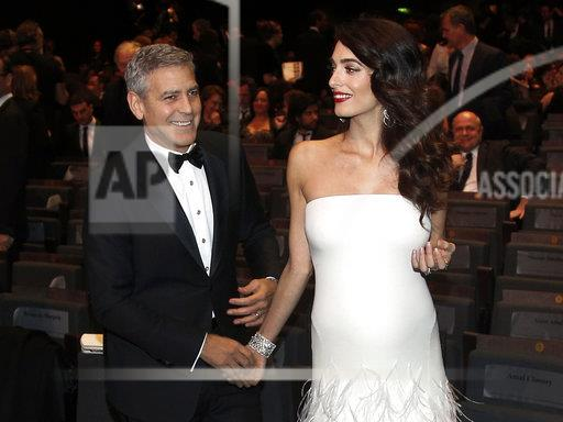 People-Clooney Twins