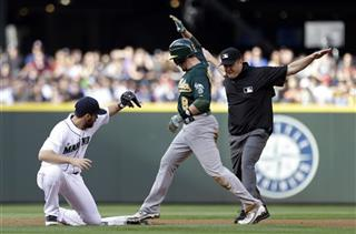 Mike DiMuro, Jed Lowrie, Dustin Ackley