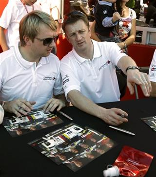 Ryan Dalziel, Allan McNish