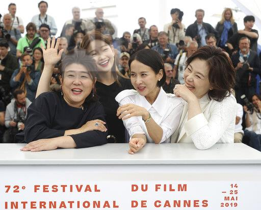 France Cannes 2019 Parasite Photo Call