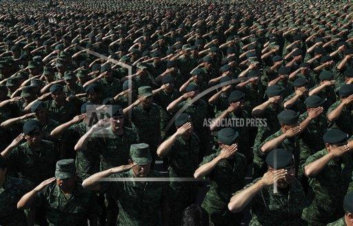 Mexico Army Abuse