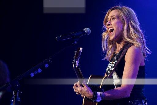 Sheryl Crow performs at CES 2018