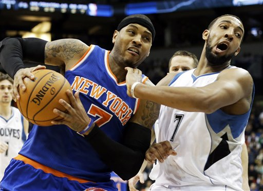 Carmelo Anthony, Derrick Williams