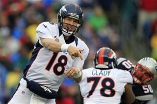 Peyton Manning, Ryan Clady, Rob Ninkovich