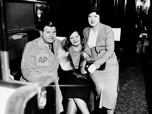 Watchf Associated Press Sports Professional Baseball (American League) New York United States APHS53987 Yankees Ruth And Family 1933