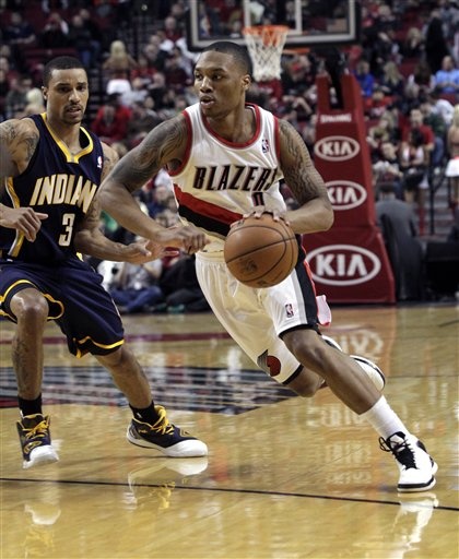 Damian Lillard, George Hill