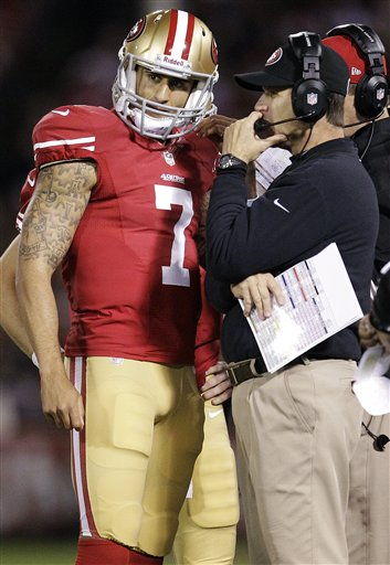 Colin Kaepernick, Jim Harbaugh